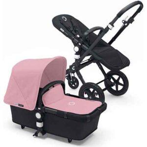 Cărucior pentru copii Bugaboo Cameleon 3 Black-Pink, 2 in 1