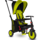 Tricicleta Smart Trike Pliabila 6 in 1 cu Certificare de Carucior si Tehnologie Touch Steering STR3 Verde