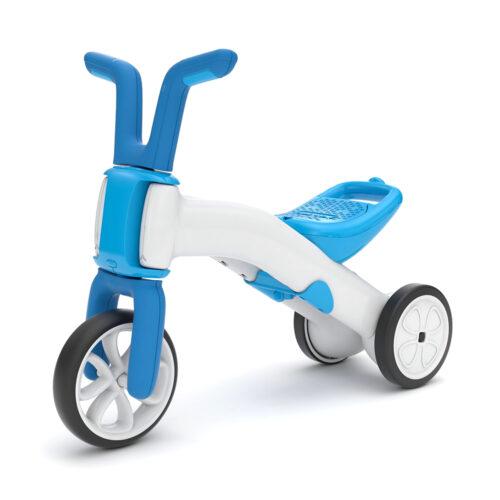 Tricicleta 2 in 1 Chillafish Bunzi 2 albastră